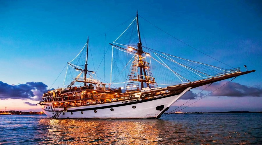 Get Our Special Discount Today! Pirate Dinner Cruise By Sea Safari Cruise Bali
