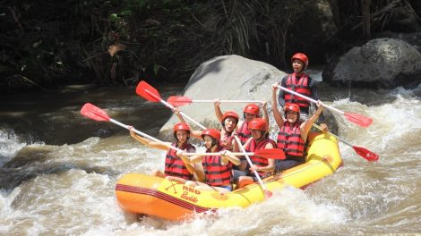 Enjoy Our Special Deal For White Water Ayung River Rafting in Ubud By Red Paddle Bali Adventures