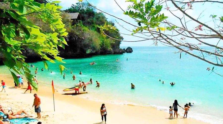 Visit Padang Padang Beach, A Popular Surf Point in Bali with Beautiful View
