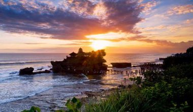 Visit Tanah Lot Temple for Watching The Amazing Temple and Beautiful Sunset