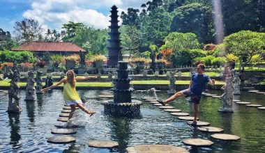 Visit Tirta Gangga, The Royal Water Garden in Karangasem Regency, Bali