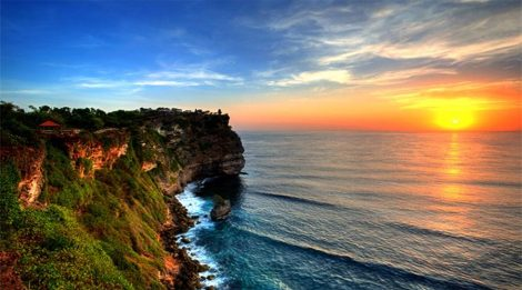 Let's Watch Beautiful Sunset and Kecak Dance at Uluwatu Temple, One of Bali Nine Key Directional Temple
