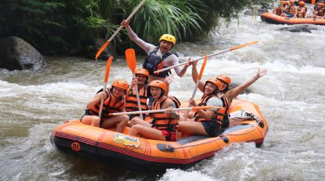 Book Our Special Deal Today! White Water Ayung River Rafting By Bali Toekad Adventures