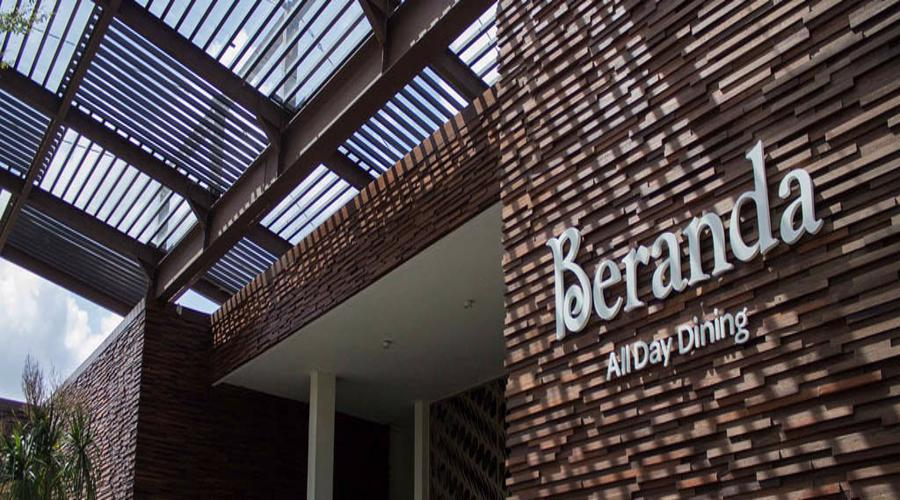 The Beranda Restaurant at GWK Bali