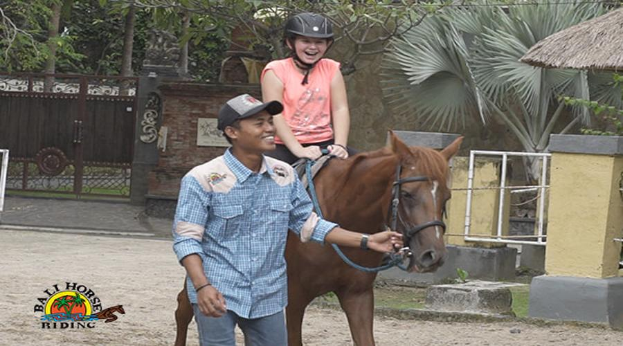 Special Discount For Entry Level Riding Lesson at Bali Horse Riding for Kids by True Bali Experience