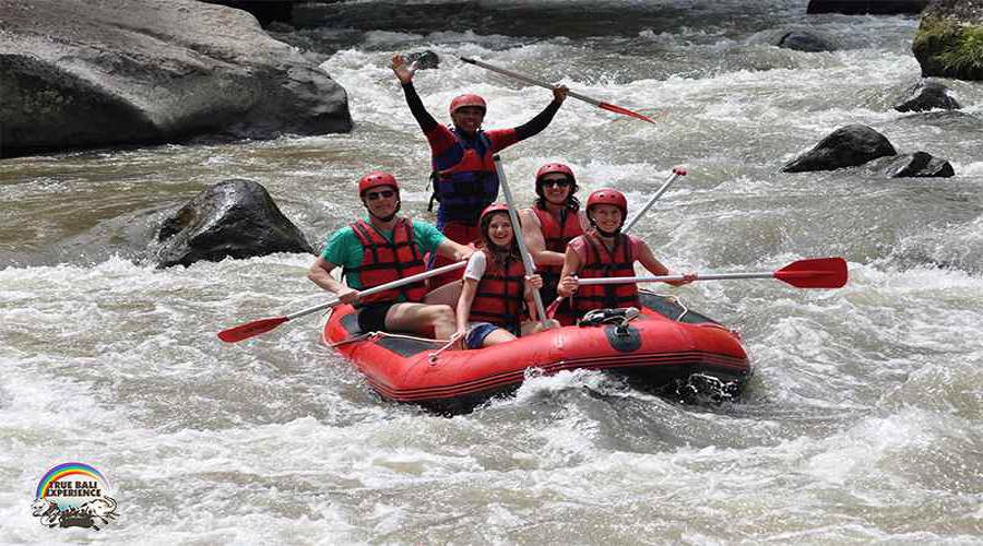 Ayung River Rafting By True Bali Experience