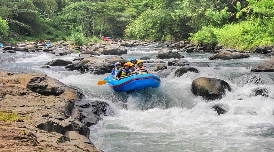 Special Discount Today! Lombok Rafting One day Tour