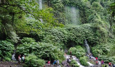 Hot Deal For Lombok Tour, Waterfall Trip One Day Tour, Visiting Benang Stokel and Kelambu Waterfall