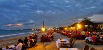 Dinner Seafood - Bintang Laut Jimbaran Cafe